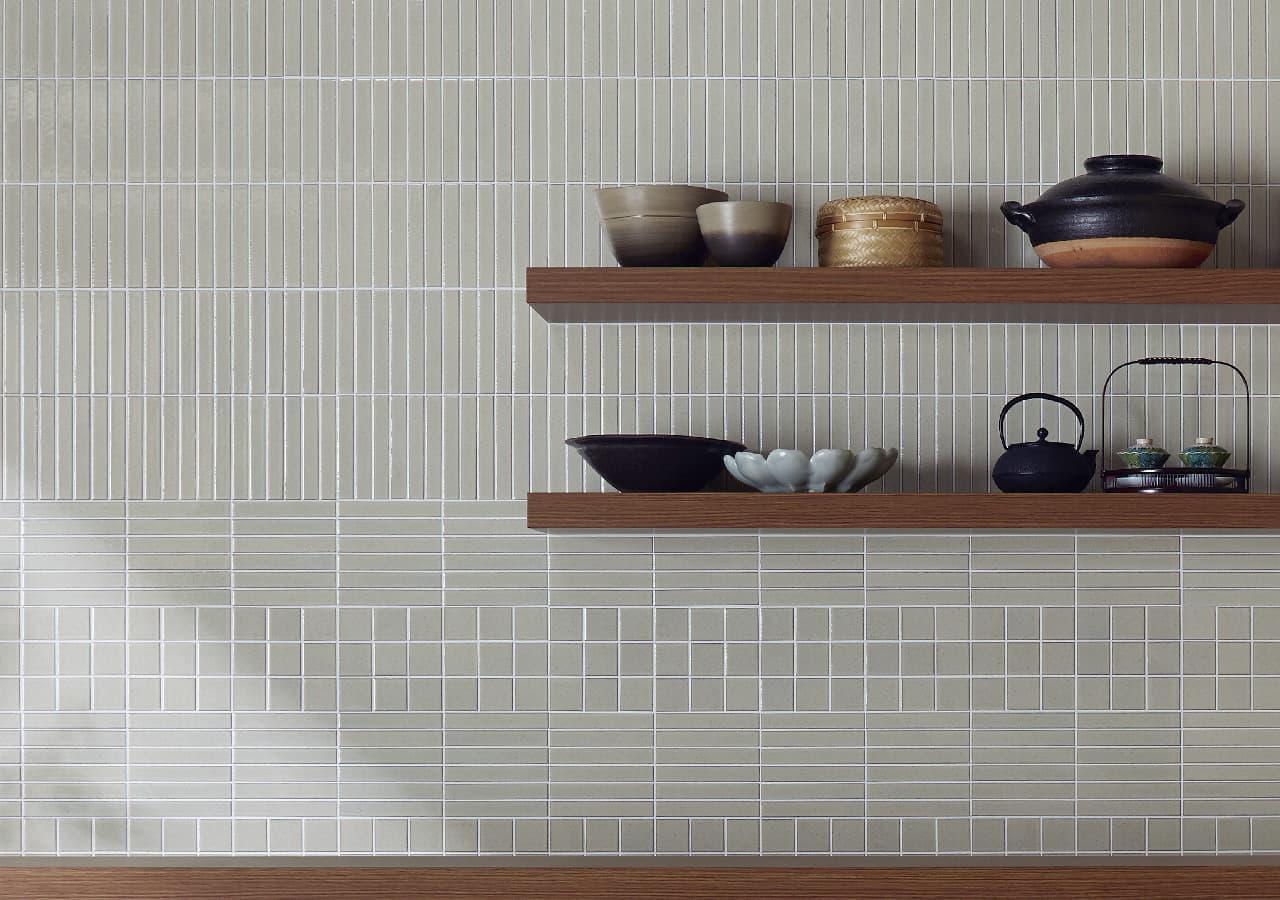 BIYUSAI white 50mm and 150x25mm mixed pattern