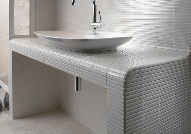 YOHEN BORDER white inax tile